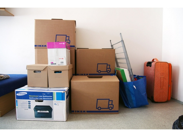 Перевозка домашних вещей. Перевезти вещи с грузчиками.