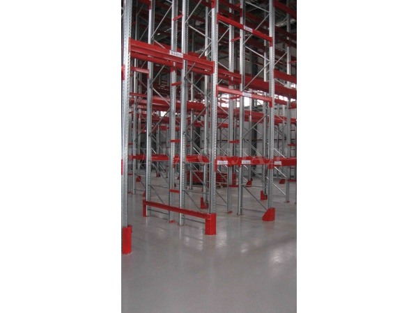 Металлические складские стеллажи от производителя