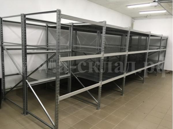 Стеллаж металлический 2500х1500х600 5 полок