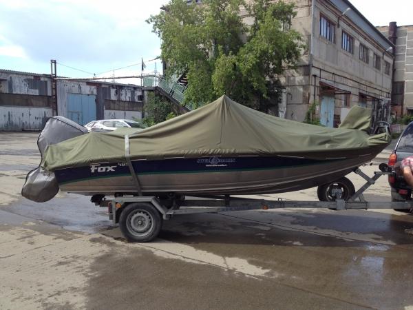 Транспортировочный тент, Чехлы на лодки