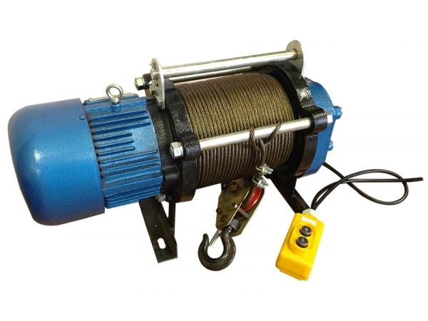 Лебедка электрическая модели KCD 500/1000 кг 380В