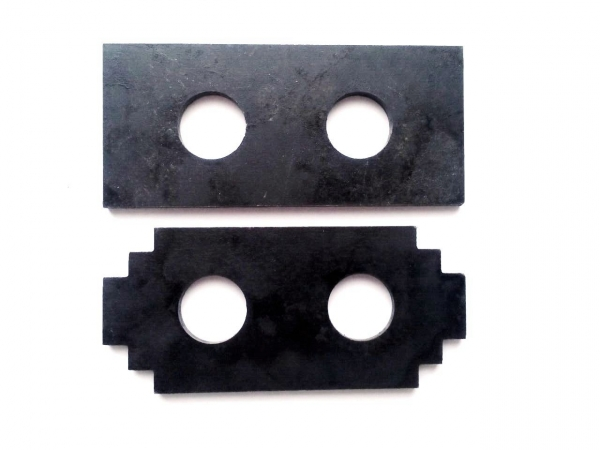 Молотки (ножи, бичи) дробилки 110х50х5 ст. 65Г (КД и КДУ)