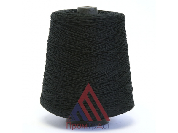Нить полиэфирная ЛШ-270 белая, черная