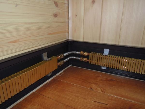 Плинтусная система отопления Тёплый плинтус по России