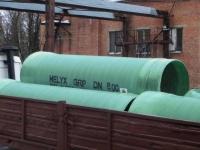 Канализационные стеклопластиковые трубы Helyx