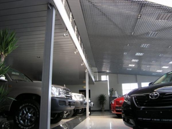 Алюминиевые подвесные потолки Албес по России