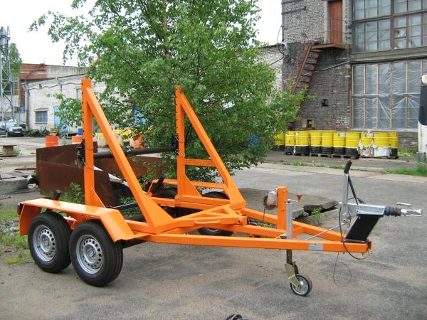 Кабельный прицеп (транспортер) КТ-3
