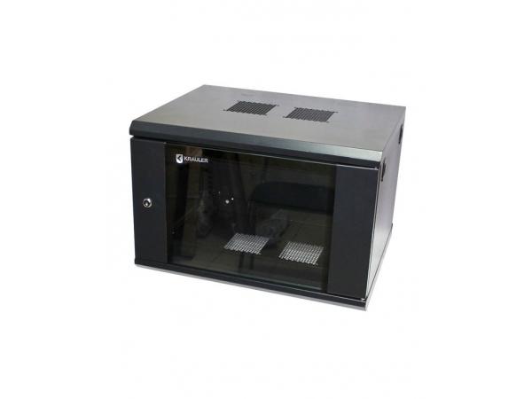 Шкаф настенный KRAULER KRC86406 19, 6U, 600x450x368 мм