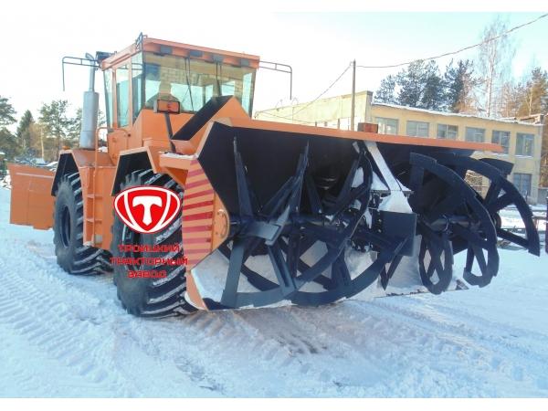 Габаритный фрезерно-роторный снегоочиститель К-705-Р-СФР