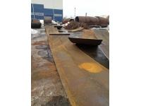 Лист стальной металлический 6мм х 1500х6000мм бу, демонтаж 90т.
