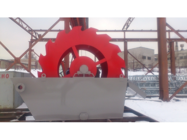 Пескомойка 477-ДТ, Оборудование для мойки песка