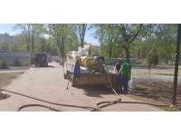 Услуги гидропосева газона