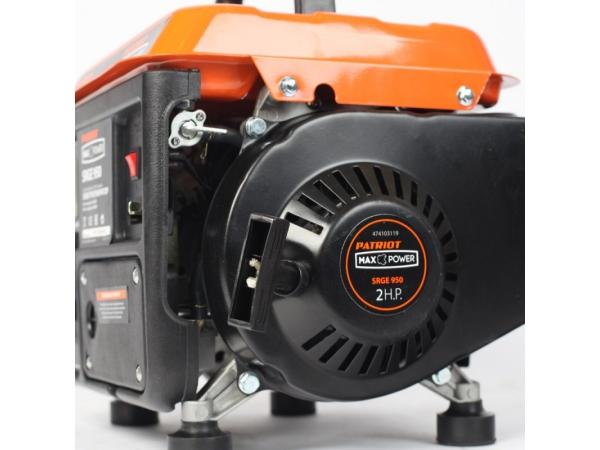 Переносной компактный генератор Patriot Max Power SRGE-950