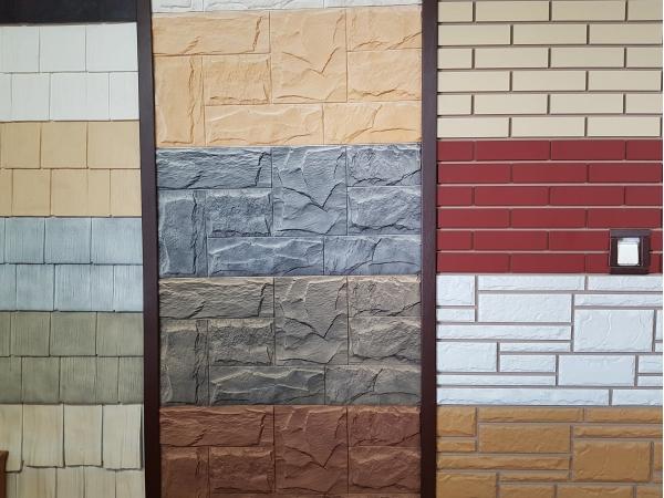 Фасадные панели под камень и кирпич