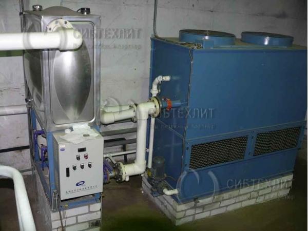 Станции охлаждения закрытого типа