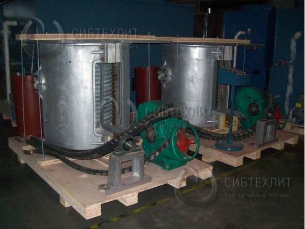 Индукционная плавильная печь GW-0, 25-250-1