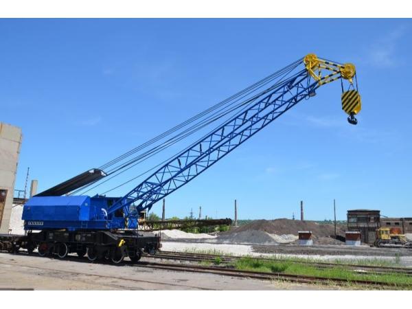 Кран железнодорожный ЕДК 300/2 60 тонн