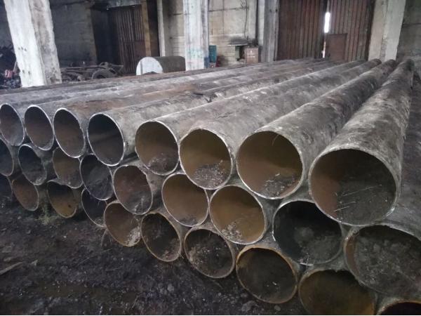Демонтаж высотных промышленных труб