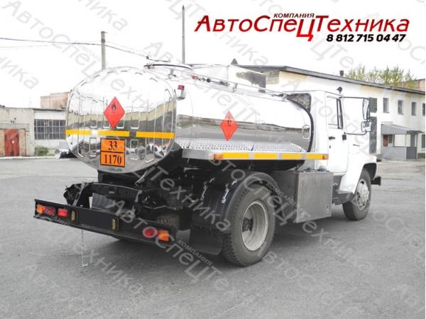 Автоцистерна АЦСТ-4,2 - ГАЗ-3309 (спиртовоз)