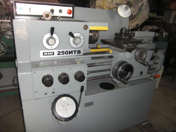 Станок ИЖ 250ИТВ токарно-винторезный (03г) с ОСНАСТКОЙ из НИИ