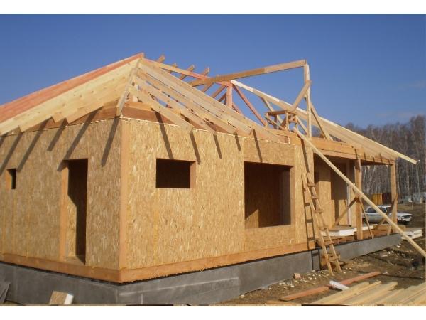 Строительство дачного садового домика домов и коттеджей из сип панели