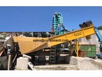 CONSTMACH Шнековая пескомойка - 100 TPH- каменная дробилка