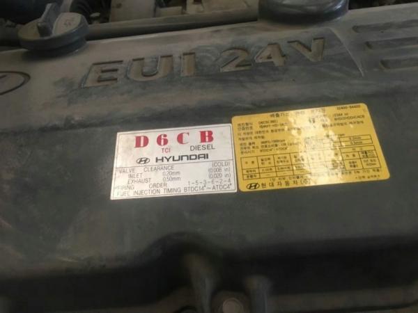 Двигатель дизельный Hyundai D6CB