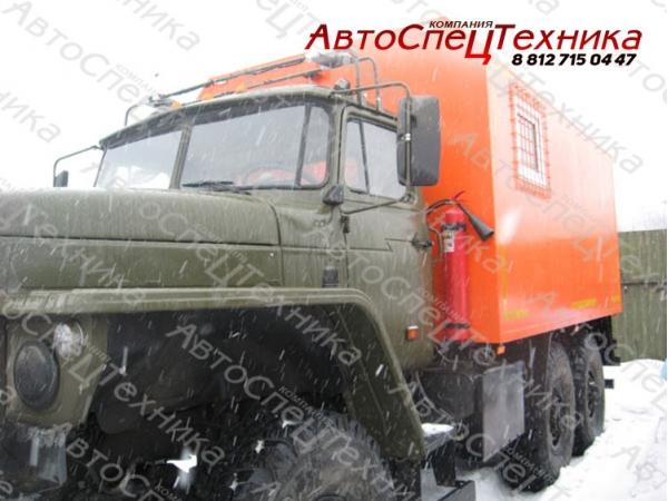 УРАЛ-4320 - для перевозки взрывчатых материалов