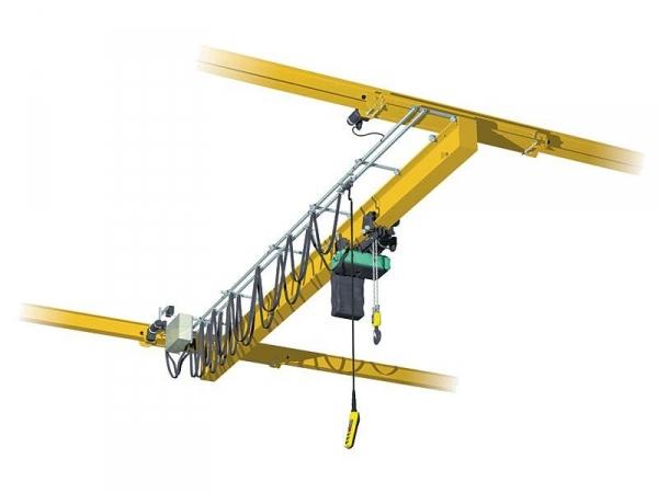 Кран мостовой однобалочный подвесной 5 тн.