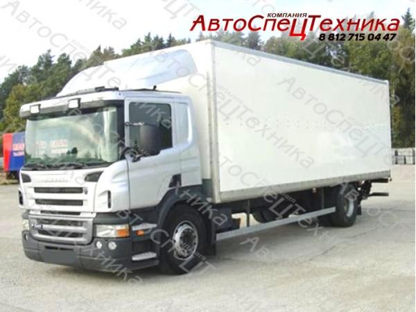 Scania P340LA HNA - для перевозки опасных грузов