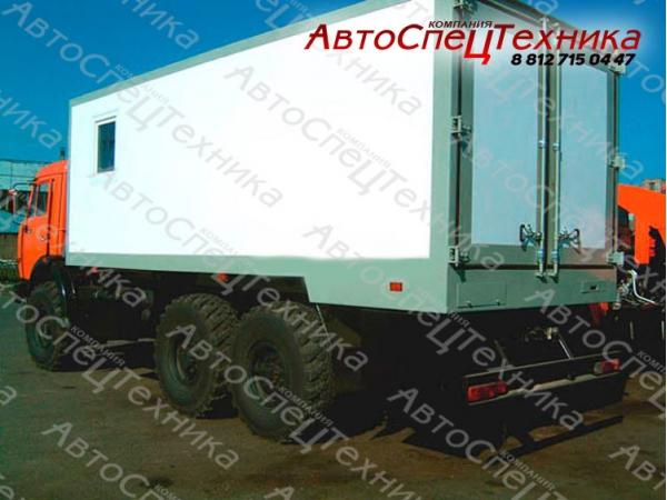 КамАЗ-43118-10 - для перевозки взрывчатых веществ