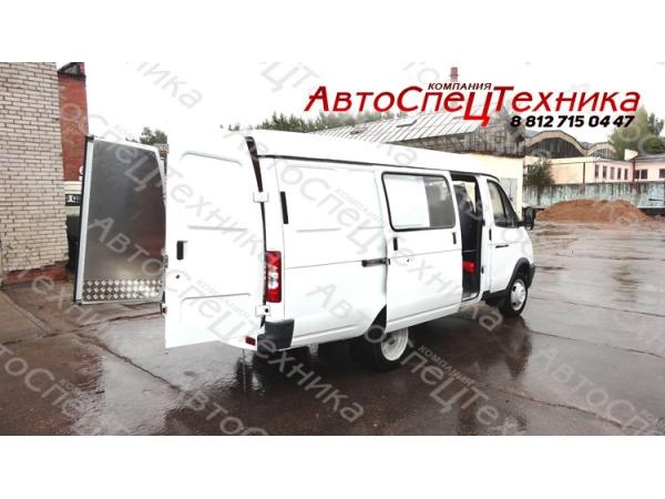 ГАЗ-2705 - для перевозки взрывчатых материалов