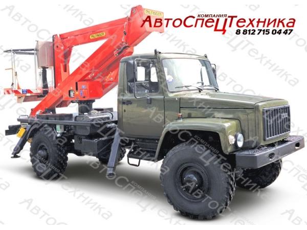 Автовышка Palfinger P 200 A - ГАЗ-33081