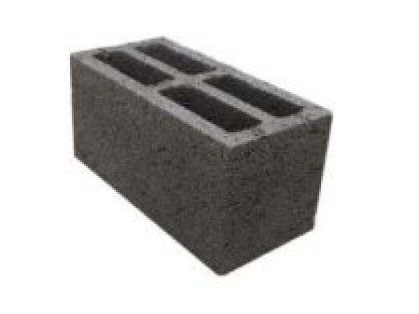 Блок стеновой керамзитобетонный 390*190*188 / Д1100 17 кг / М50  ЭКОН