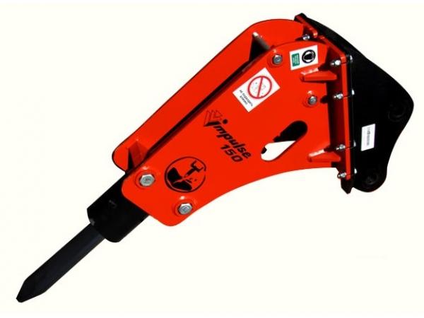 Гидромолот на экскаватор - погрузчик мини - экскаватор