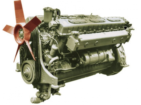 1Д12БМС2 Дизель для шнеко-роторных снегоочистительных машин Д-902, ДЭ-