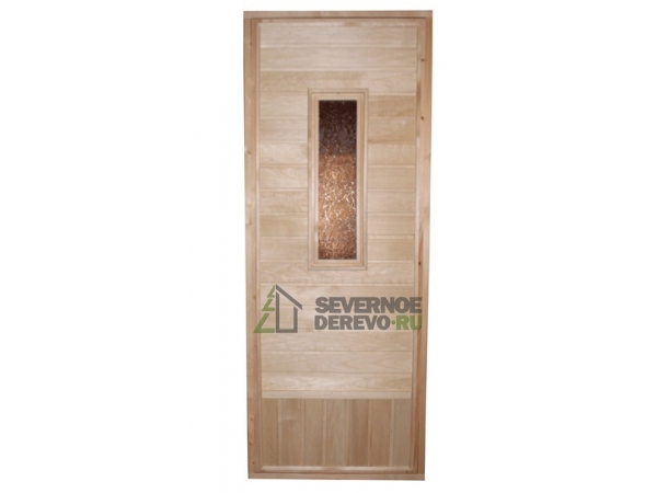 Деревянные двери для бани и сауны