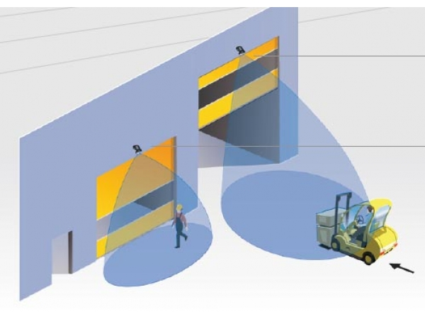 Радарный датчик Falcon для автоматических промышленных ворот