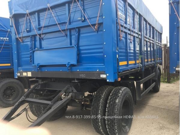 Прицеп-зерновоз НЕФАЗ-8332 (для КАМАЗ-65207, 65117, 65115)