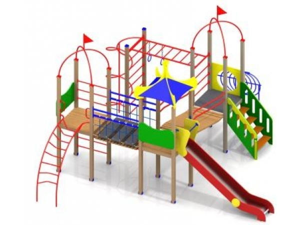 Детское игровое уличное оборудование от производителя
