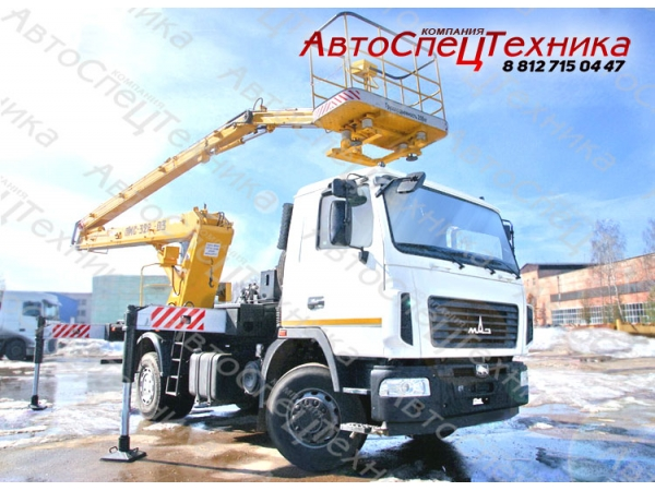 Автовышка ПМС-328-03 - МАЗ-5340В2