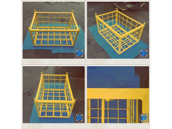 Грузоподъёмная клетка (корзина) для подъёма стройматериалов