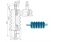 Изоляторы фарфоровые линейные тяговые