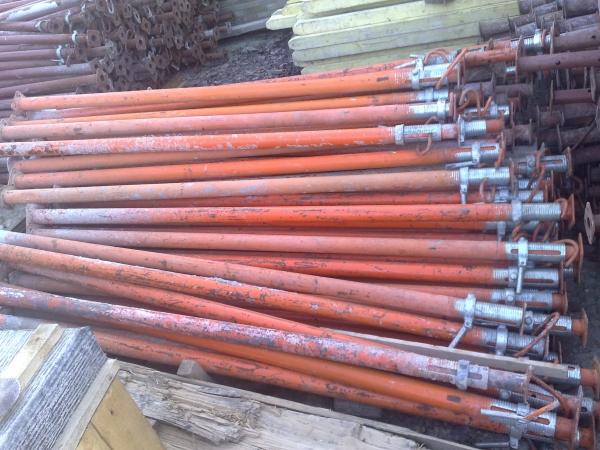 ПРОДАЮ Б/У- леса рамные,опалубку,домкраты,ригеля металлодеревянные и д