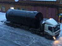 Резервуар стальной горизонтальный (РГСН, РГСП) 75м3