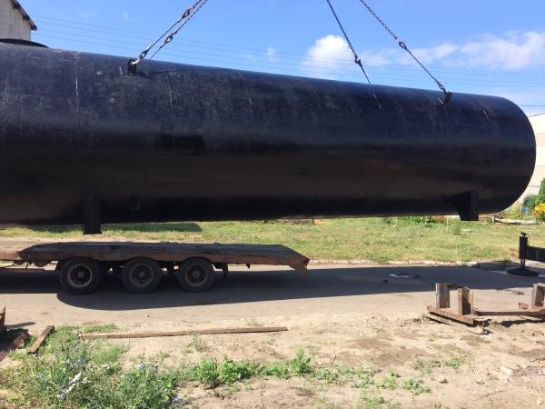 Резервуар стальной горизонтальный (РГСН, РГСП) 100м3