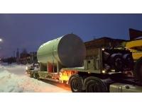 Резервуар стальной горизонтальный (РГСН, РГСП) 25м3