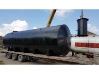 Резервуар стальной горизонтальный (РГСН, РГСП) 125м3