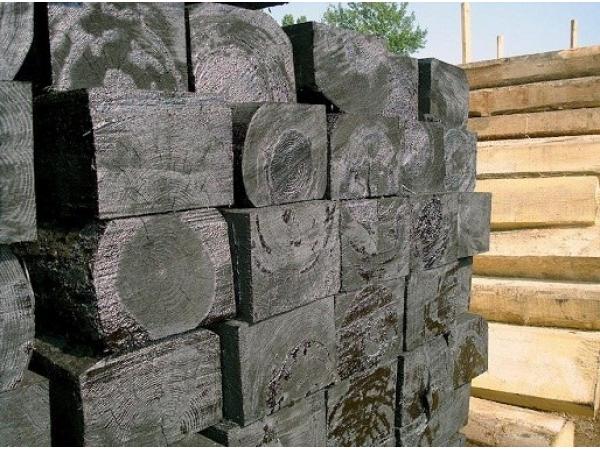 Полушпалки деревянные тип 2