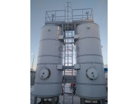 Технологические системы АГЗС с вертикальным размещением резервуаров